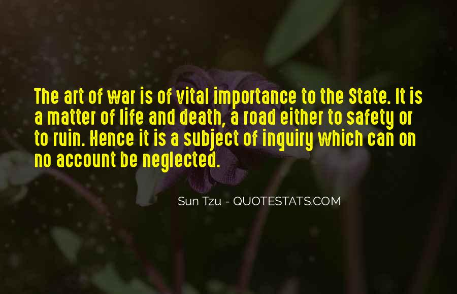 Quotes About The Importance Of Art #601061