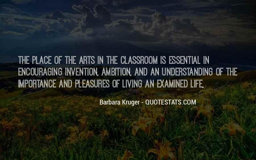 Quotes About The Importance Of Art #629488