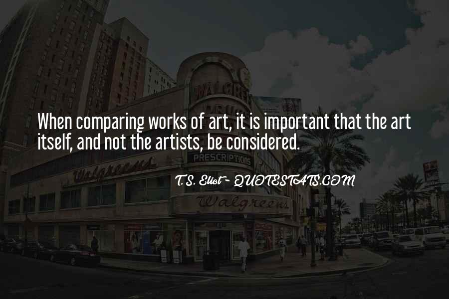 Quotes About The Importance Of Art #697694