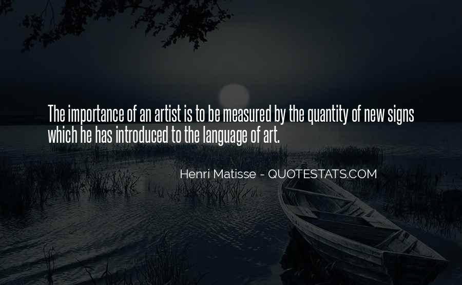 Quotes About The Importance Of Art #717346