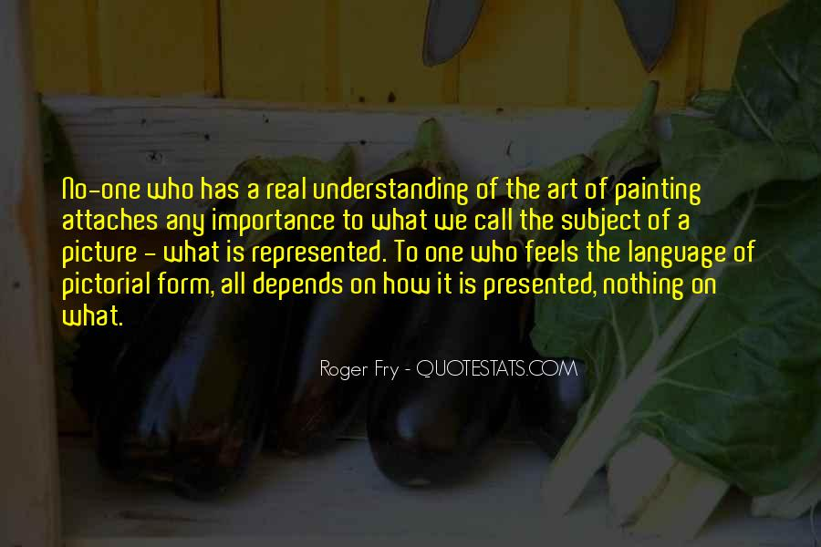 Quotes About The Importance Of Art #757747