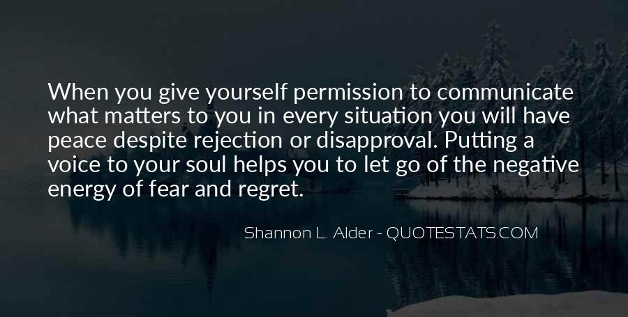 Fear Of Rejection Love Quotes #898163