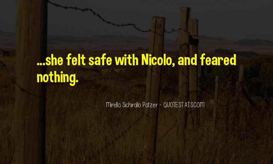Feared Quotes #105047
