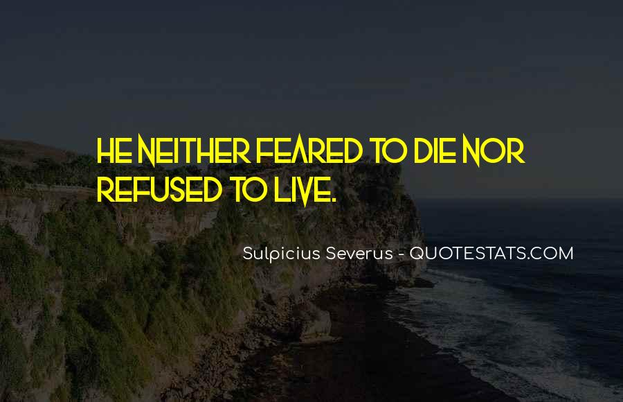 Feared Quotes #145017