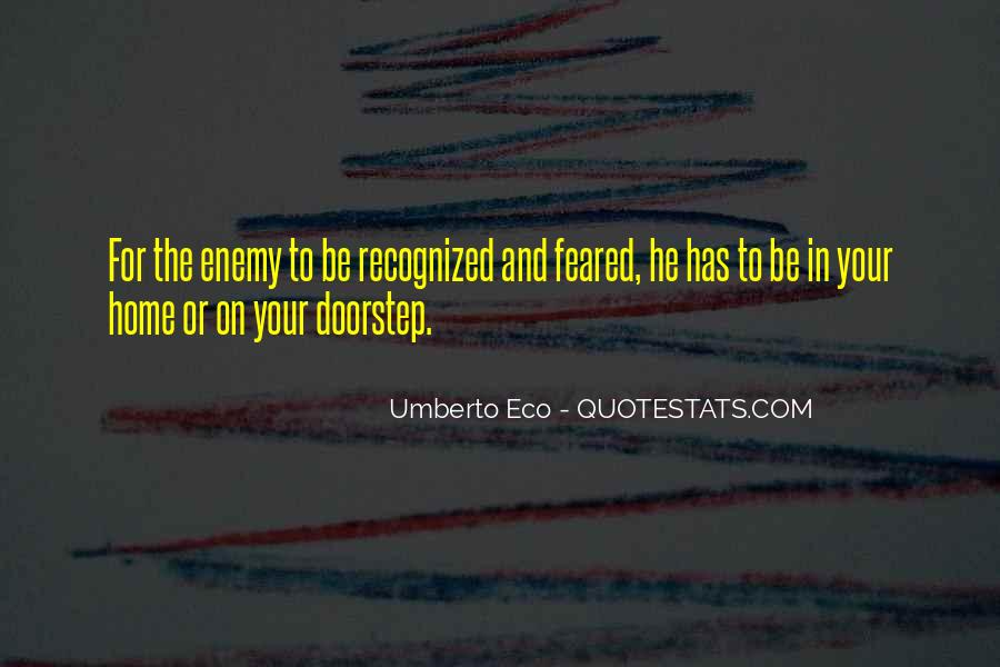 Feared Quotes #148581