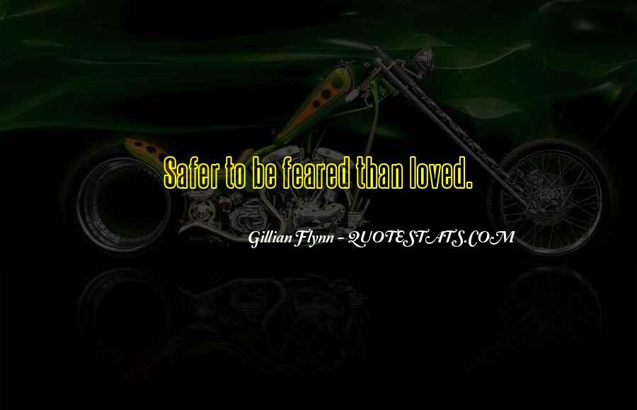 Feared Quotes #174615
