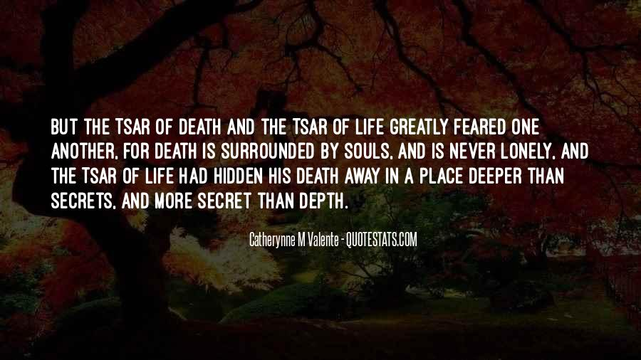 Feared Quotes #24366