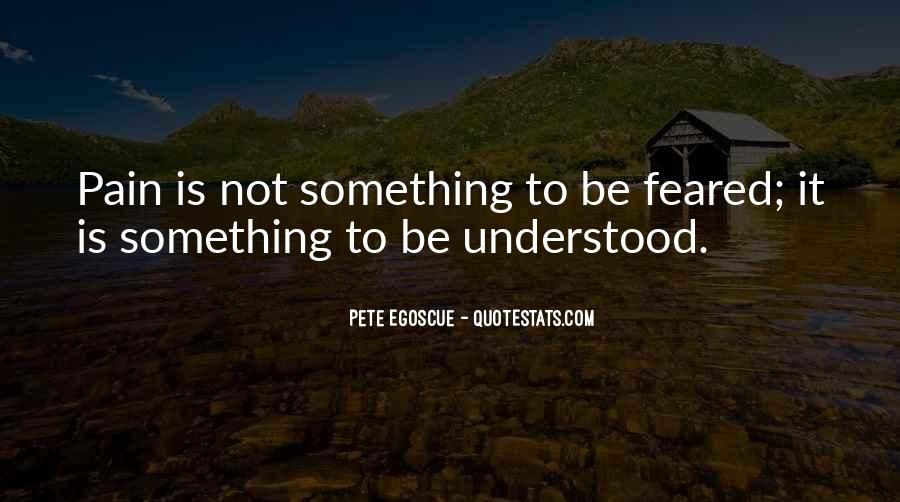 Feared Quotes #55006