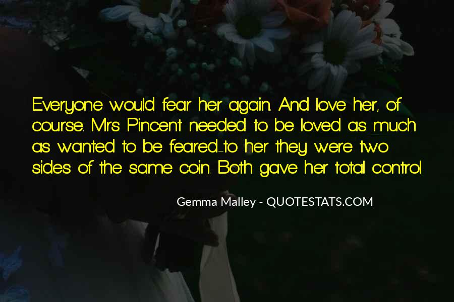 Feared Quotes #72473