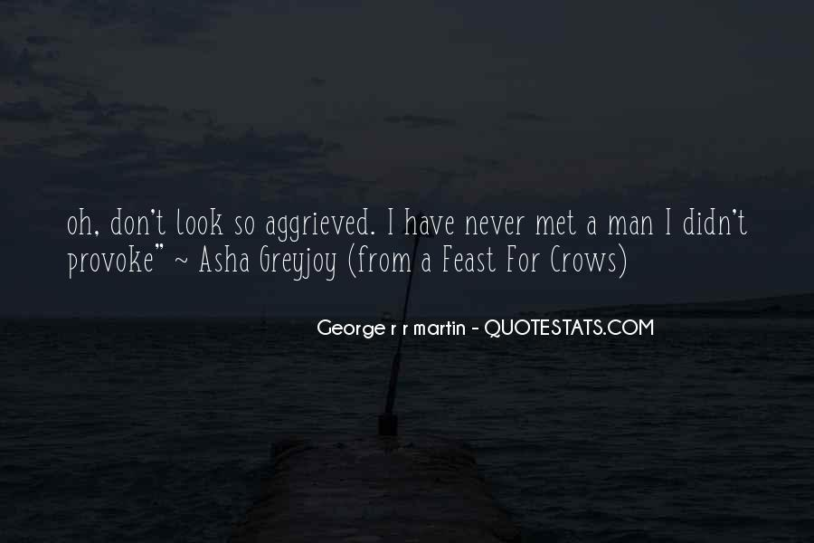 Feast For Crows Quotes #58637