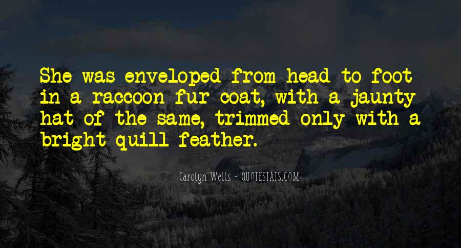 Feather Quill Quotes #1441154