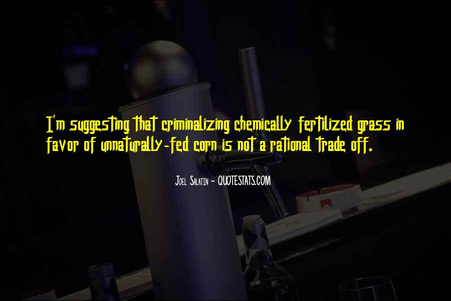 Fed Off Quotes #16454