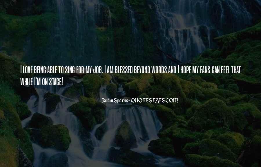 Feel Blessed Love Quotes #1356107
