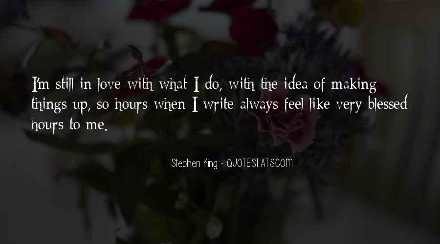 Feel Blessed Love Quotes #204559