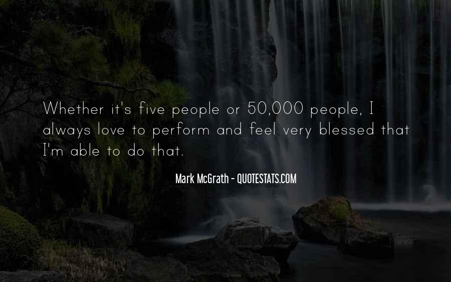 Feel Blessed Love Quotes #446019