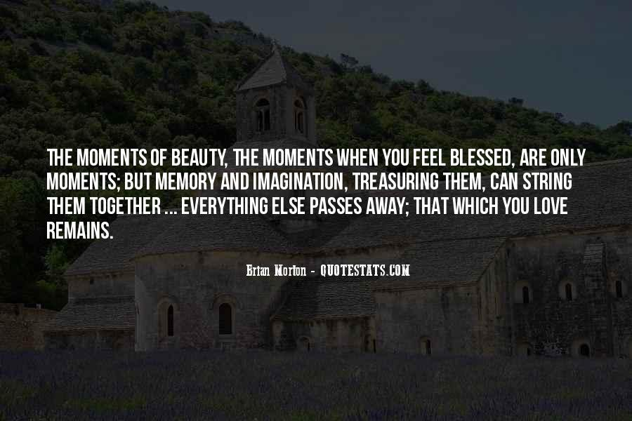 Feel Blessed Love Quotes #650585