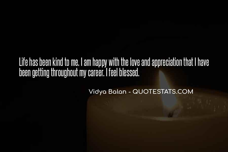 Feel Blessed Love Quotes #692111