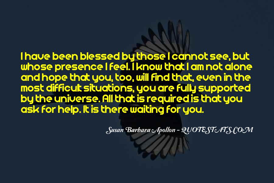 Feel Blessed Love Quotes #742936
