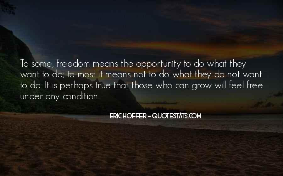Feel Freedom Quotes #293190