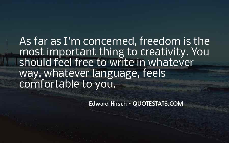 Feel Freedom Quotes #494830