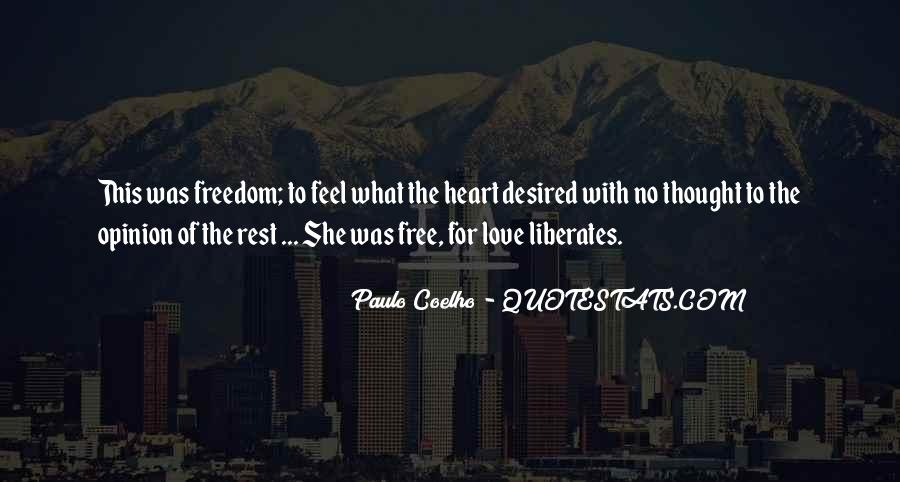 Feel Freedom Quotes #505082
