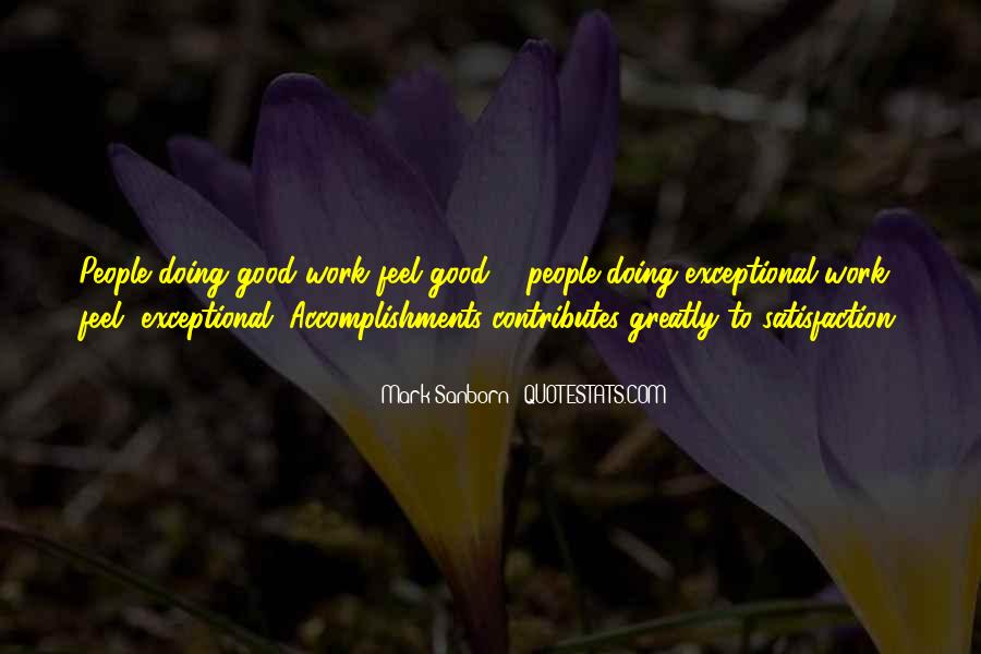 Feel Good Factor Quotes #884084