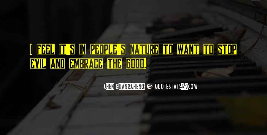 Feel Good Nature Quotes #1625782