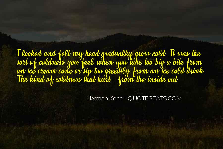 Feel Hurt Inside Quotes #128606