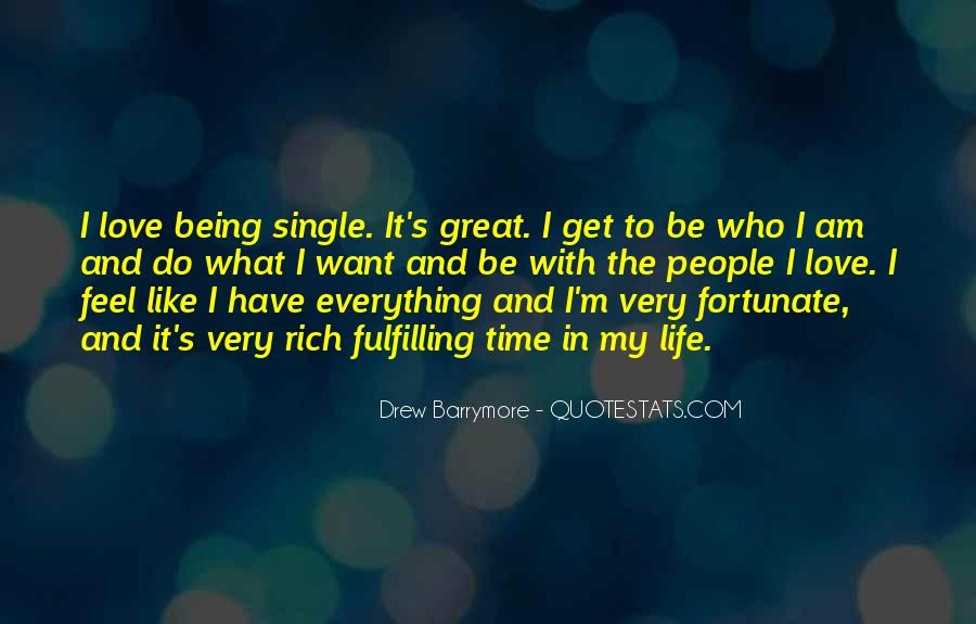 Feel Like Being Single Quotes #1774590