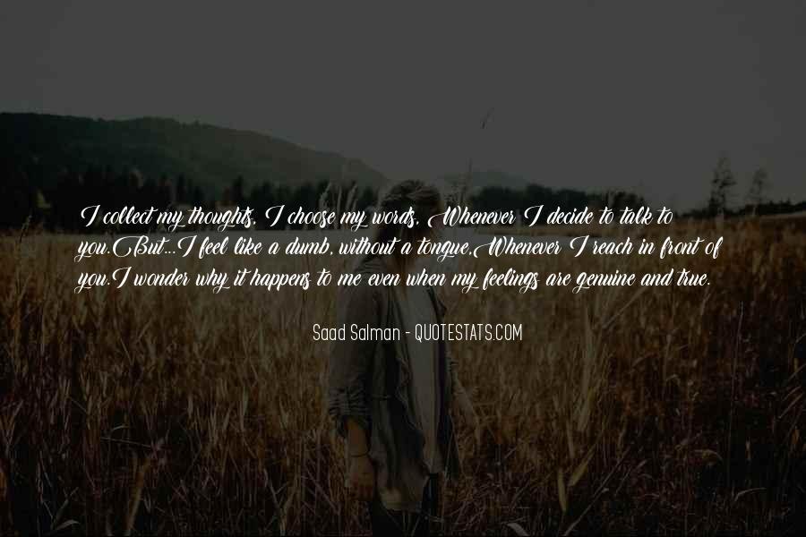 Feel My Love Sad Quotes #1185683