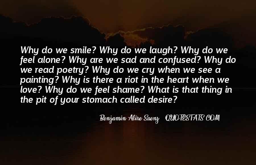 Feel My Love Sad Quotes #1264839