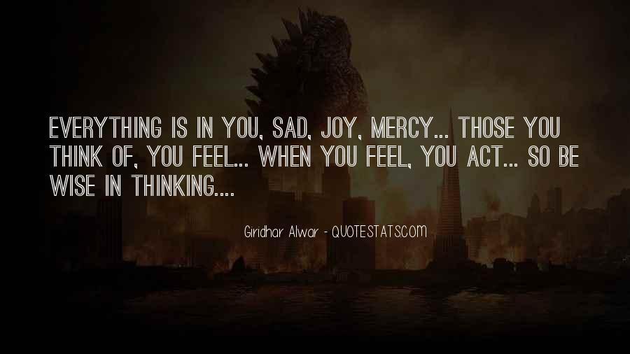 Feel My Love Sad Quotes #1471061