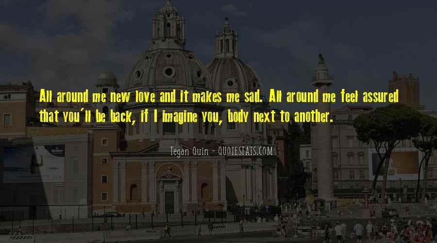 Feel My Love Sad Quotes #151046