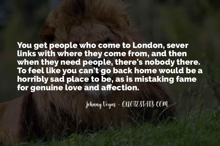 Feel My Love Sad Quotes #1649211