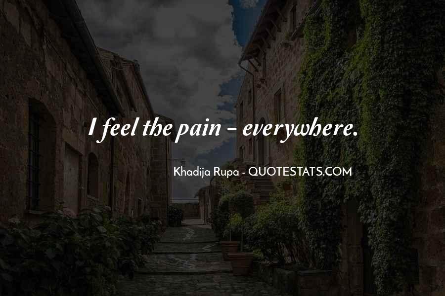 Feel My Love Sad Quotes #1821809