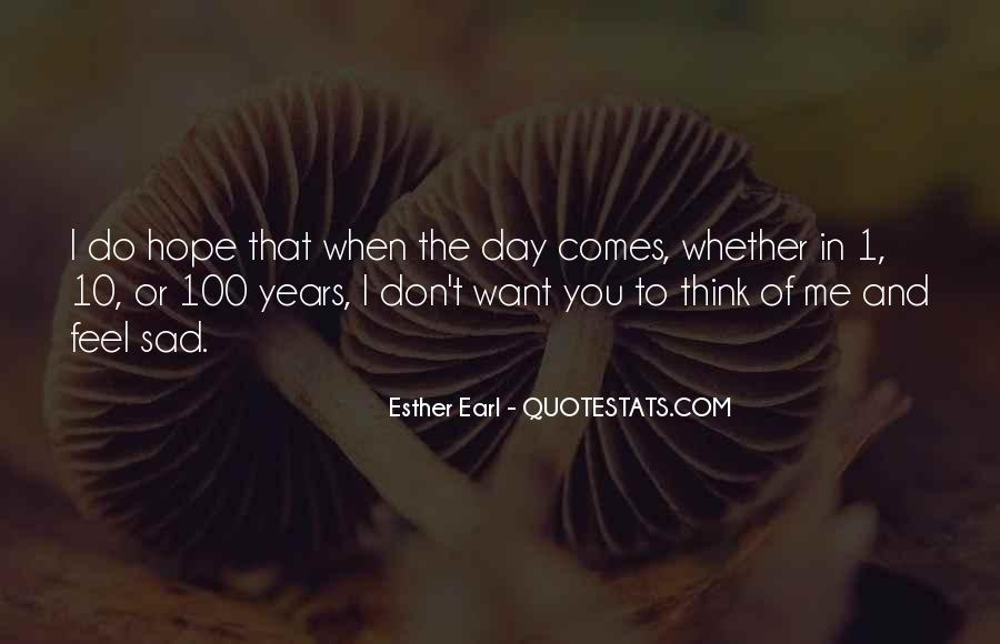 Feel My Love Sad Quotes #1857737