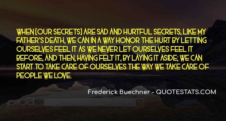 Feel My Love Sad Quotes #541294