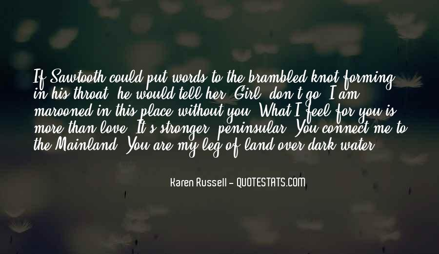 Feel Out Of Love Quotes #1019899