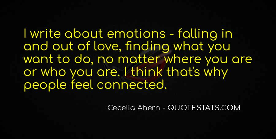 Feel Out Of Love Quotes #1335910