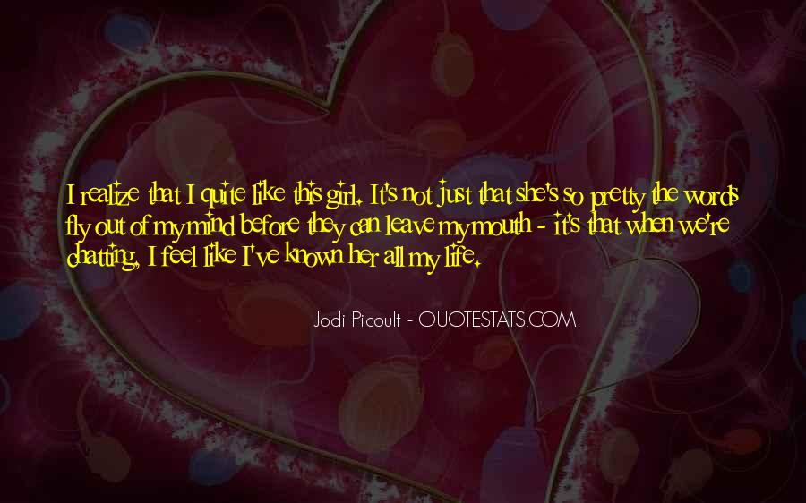 Feel Out Of Love Quotes #388882
