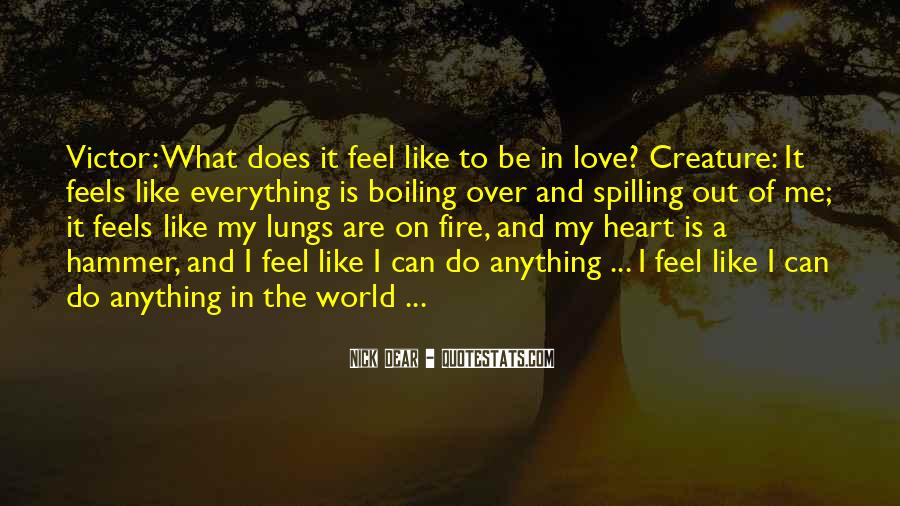 Feel Out Of Love Quotes #664242