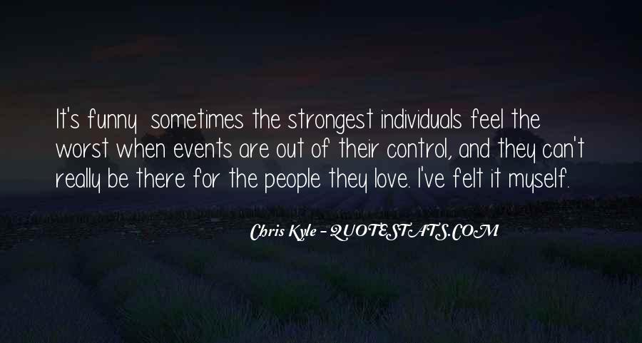 Feel Out Of Love Quotes #813849