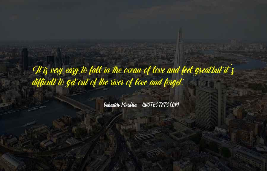 Feel Out Of Love Quotes #883652