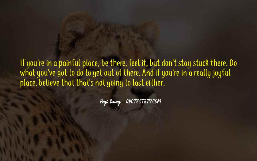 Feel Out Of Place Quotes #1621401