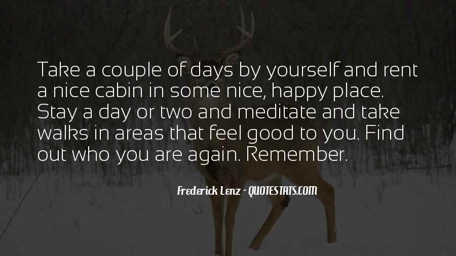 Feel Out Of Place Quotes #309442