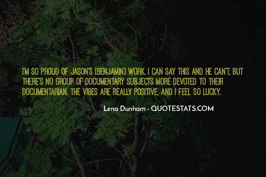 Feel So Lucky Quotes #1010265