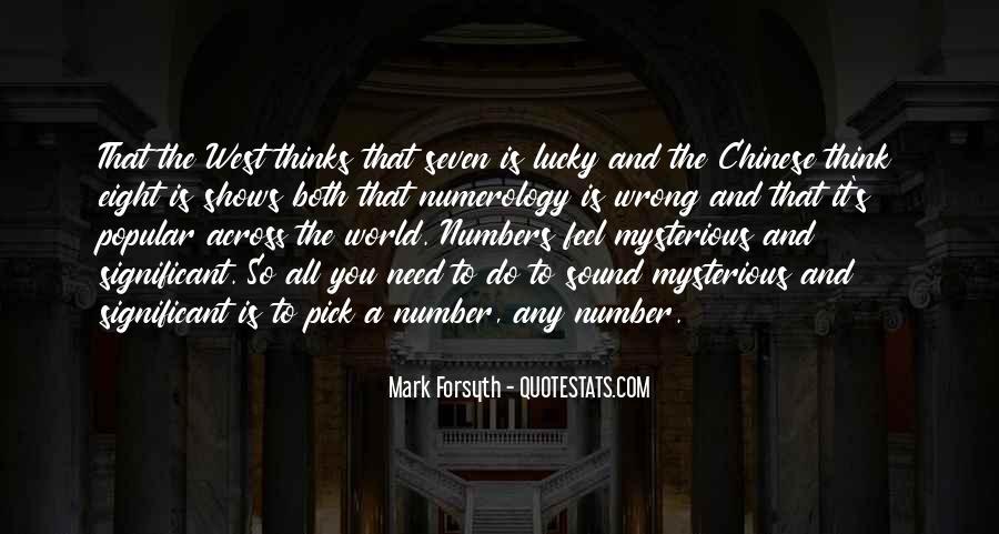 Feel So Lucky Quotes #1283824
