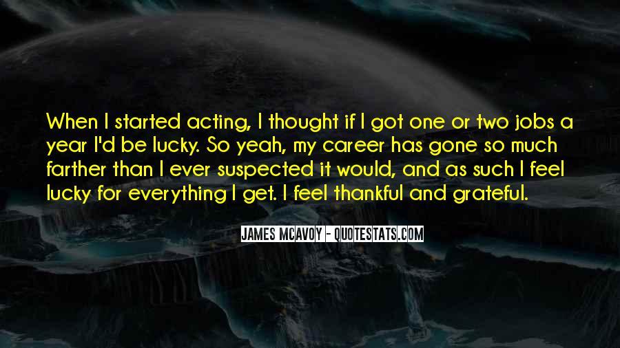 Feel So Lucky Quotes #1340891