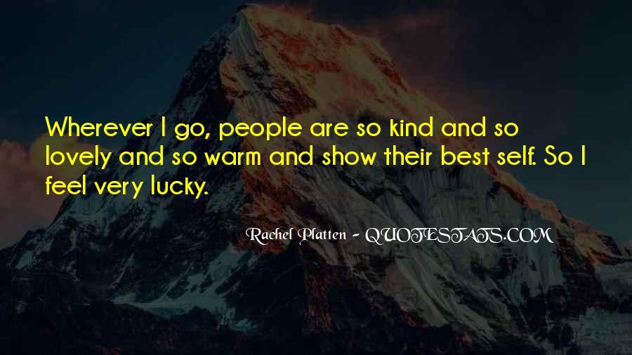 Feel So Lucky Quotes #1373251