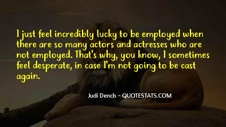 Feel So Lucky Quotes #1702901